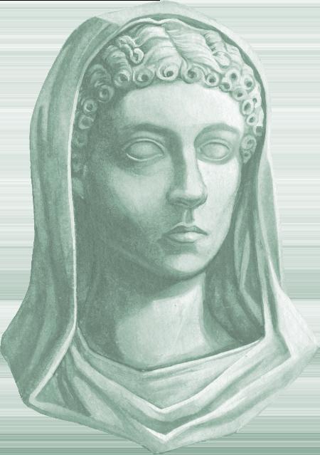 Autoportrait statuifié