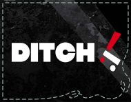 """""""Ditch"""", a logotype, packaging and visual identity by messalyn (thumbnail)."""