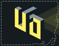 """""""UFO"""", an original logotype and visual identity by messalyn (thumbnail)."""