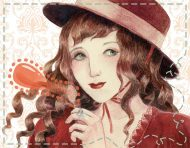 """""""Convention Lolita 3"""", an original illustration and poster design by messalyn (thumbnail)."""