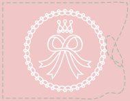 """Rouge Dentelle & Rose Ruban"", an original logotype by messalyn (thumbnail)."