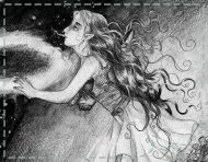 """Tangerine Dream II"", an original drawing by messalyn (thumbnail)."