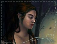 """Lire"", a digital painting by messalyn (thumbnail)."