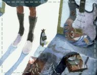 """SHE KNOWS"", a painting by messalyn after ""Neon Genesis Evangelion"" by studio Gainax (thumbnail)."