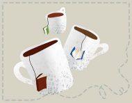 """Les Tasses Littéraires"", a webdesign by messalyn (thumbnail)."