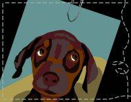 """Hotdog"", an original mini flash-game (school assignment) by messalyn (thumbnail)."