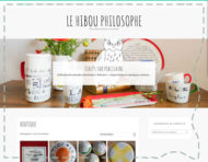 lehibouphilosophe.art, webshop mainly showcasing the works of a french ceramist with a strong literary flair (thumbnail).