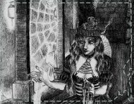 """Géhenne"", an original drawing by messalyn (thumbnail)."